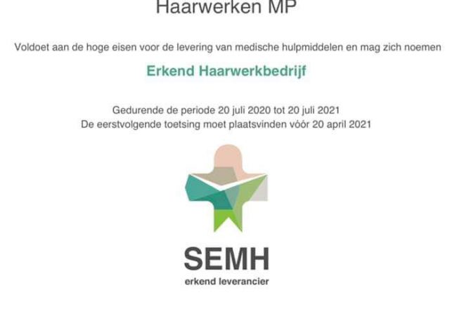 2020-2021 Certificaat SEMH